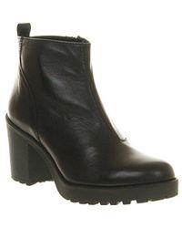 Vagabond Shoemakers Grace Heeled Boots - Black