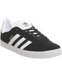 adidas Gazelle Trainers - Black