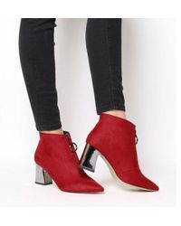 Office - Ashe-r-front Zip Boot - Lyst