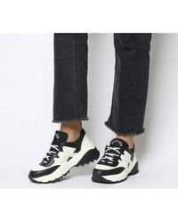 Office Freestyler Hiker Lace Up - Black