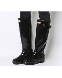 HUNTER - Original Refined Gloss Boots - Lyst