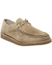 Office Cain Apron Toe Shoe - Natural