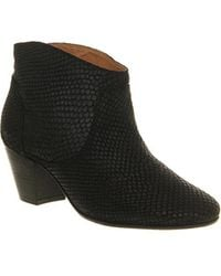 Office Mirar Heeled Ankle Boot - Black