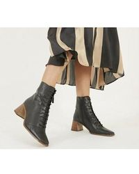 Office Ariella - Lace Up Boot - Black