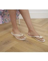 Vivienne Westwood Vw Harmonic Orb Sandals - Natural