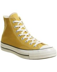 0f86b15052e6 Converse - 1970s Chuck Taylor All Star Canvas High-top Sneakers - Lyst