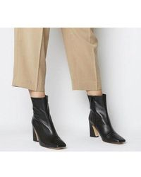 Office - Advantage- Square Toe Block Heel Boot - Lyst