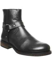 Office Bronco Harness Boot - Black