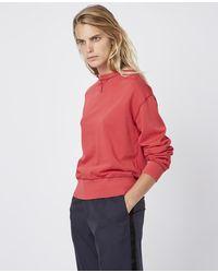 Officine Generale Alecia Sweatshirt - Red