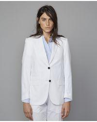 Officine Generale Charlene Jacket - White