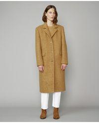 Officine Generale Amber Coat - Natural