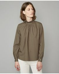 Officine Generale Sofia Shirt - Green