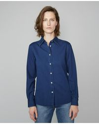 Officine Generale Colombe Shirt - Blue