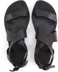 Officine Generale Positano Sandals - Black