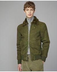 Officine Generale Saul Bomber - Green
