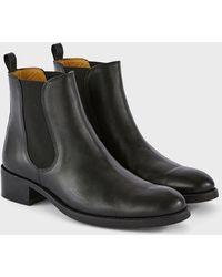 Officine Generale Malia Chelsea Boots - Black