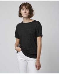 Officine Generale Mariane Tee Shirt - Black