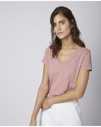 Officine Generale Francis Tee Shirt - Pink