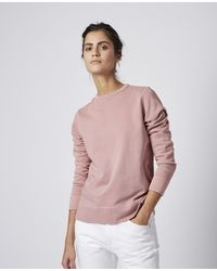 Officine Generale Caro Sweatshirt - Pink