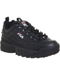 Fila - Disruptor Ii Premium Trainers Black - Lyst