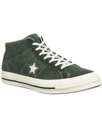 Converse - One Star Mid - Lyst