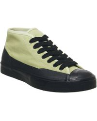c9c573a0279f Lyst - Converse Custom Jack Purcell Premium Leather Mid Top Shoe in ...