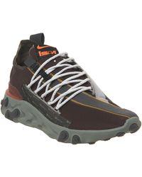 Nike React Runner Wr Ispa Sneakers - Brown