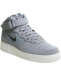 4a82578d1d60 Lyst - Nike Air Force 1 Mid Top Sneakers for Men