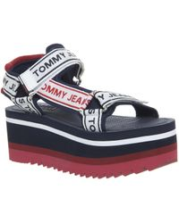 Tommy Hilfiger Tech Sandals - Blue
