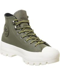 Converse Chuck Taylor All Star Lugged Waterproof Trainers - Green