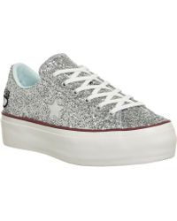 Converse - One Star Platforms - Lyst