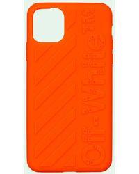 Off-White c/o Virgil Abloh Diag Iphone 11 Pro ケース - オレンジ
