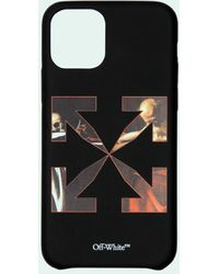 Off-White c/o Virgil Abloh Coque d'iPhone 12 Mini à imprimé Caravaggio - Noir