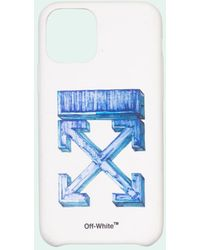 Off-White c/o Virgil Abloh Iphone 11 Hoesje Met Pijlprint - Wit