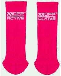 Off-White c/o Virgil Abloh Active Socks Set - White