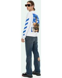 Off-White c/o Virgil Abloh - Caravaggio Boy Marker スウェットシャツ - Lyst