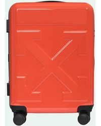 "Off-White c/o Virgil Abloh Trolley Piccolo ""for Travel"" - Rosso"
