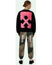 Off-White c/o Virgil Abloh - Sweater Met Pijlprint - Lyst