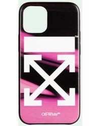 Off-White c/o Virgil Abloh Cover Liquid iPhone 12 mini - Rosa