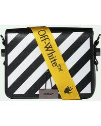 Off-White c/o Virgil Abloh Diag Baby Mini Bag - Black