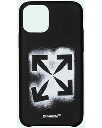 Off-White c/o Virgil Abloh Stencil Arrows Iphone 11 ケース - ブラック