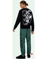 Off-White c/o Virgil Abloh Sweater Met Pijlprint - Zwart