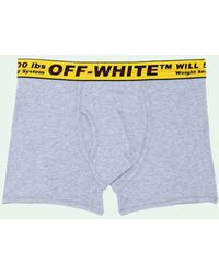 Off-White c/o Virgil Abloh Industrial ボクサーパンツ - グレー