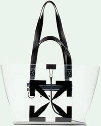 Off-White c/o Virgil Abloh Small Arrow Tote Bag - Black
