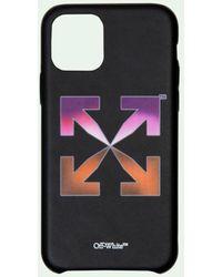 Off-White c/o Virgil Abloh Iphone 12 Pro Max Hoesje Met Logo - Zwart