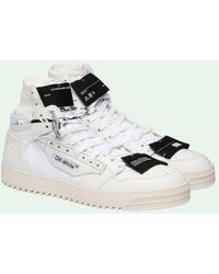 Off-White c/o Virgil Abloh Off-court 3.0 High-top Sneakers - Wit