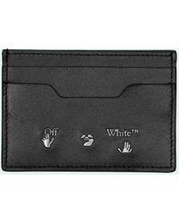 Off-White c/o Virgil Abloh Pasjeshouder Met Logoprint - Zwart