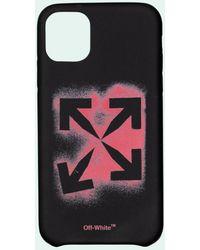 Off-White c/o Virgil Abloh ロゴ Iphone Xs ケース - ブラック