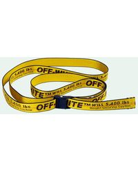 Off-White c/o Virgil Abloh Classic Mini Industrial Belt - Yellow