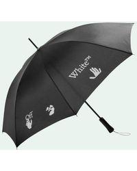 Off-White c/o Virgil Abloh Parapluie à logo imprimé - Noir